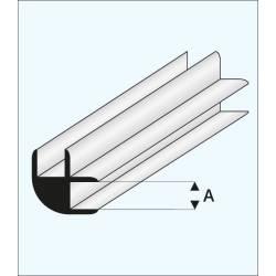 """Conector en """"L"""" 1,0 mm. MAQUETT 449-51/3"""