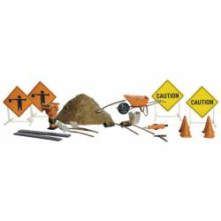 Road crew details. WOODLAND A1851