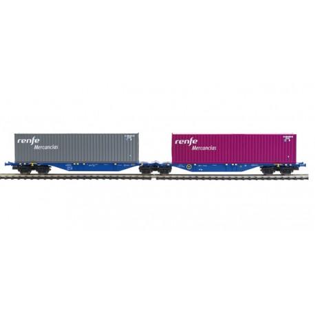 "Container car ""RENFE Mercancías"". MABAR 58876"