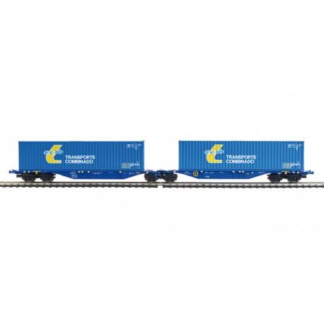 "Container car ""Transporte Combinado"". MABAR 58875"