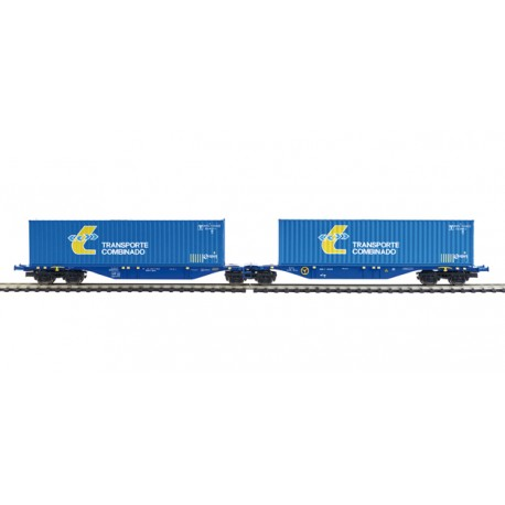 "Plataforma doble ""Transporte Combinado"". MABAR 58875"