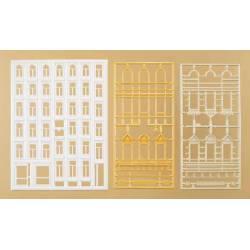 Ventanas y cornisas (34 unidades).