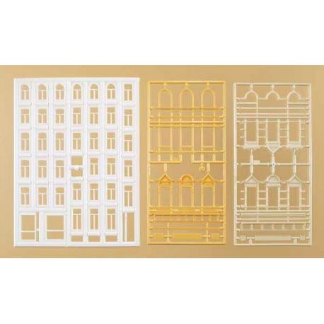 Ventanas y cornisas (34 unidades). AUHAGEN 48651