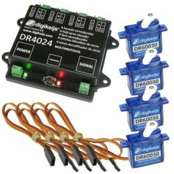 Set de digitalización de servos. DIGIKEIJS DR4024_BOX
