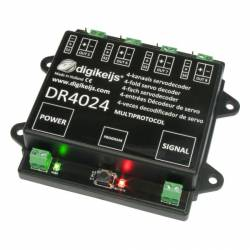 Decoder para 4 servos, 4+4 salidas. DIGIKEIJS DR4024