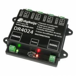 Servo decoder, 4+4 outputs. DIGIKEIJS DR4024