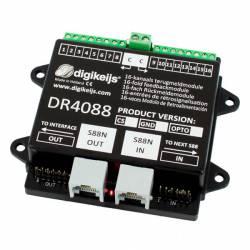 Retromódulo S88, 16 canales. DIGIKEIJS DR4088CS