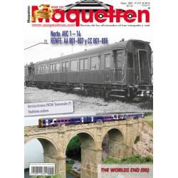 Revista Maquetren, nº 282. Agosto 2016