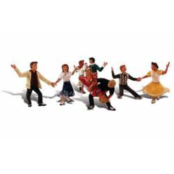 Bailando swing.