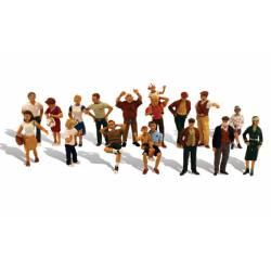 Peatones (16 figuras).