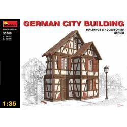 German city building. MINIART 35506