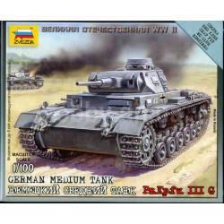 German medium tank. ZVEZDA 6119