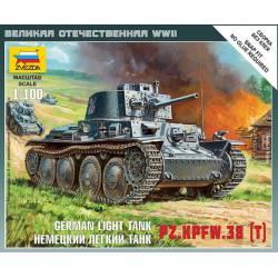 Panzer Kpfw. 38 t. ZVEZDA 6130