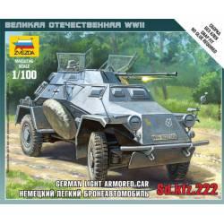 Blindado alemán Sd.Kfz.222. ZVEZDA 6157