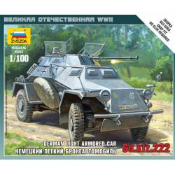 German light armored car. ZVEZDA 6157