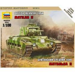 British infantry tank, Matilda II.