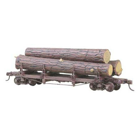 Truss log car kit. KADEE 103