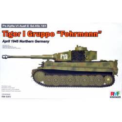 """Tiger I Gruppe """"Fehrmann"""", Northern Germany (1945). RFM 5005"""