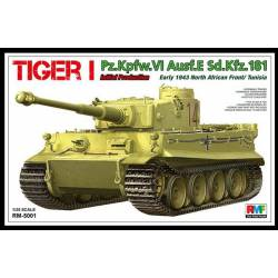 Tiger I, initial production (North Africa, 1943). RFM 5001