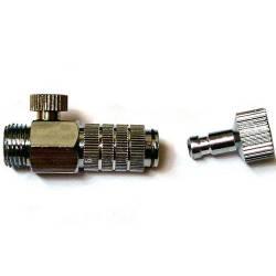 Conector rápido con regulador de presión. FENGDA BD-120
