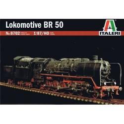 Steam locomotive BR50.