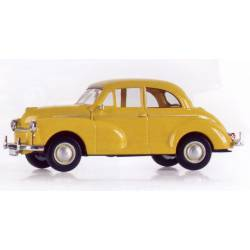 Morris Minor, yellow.