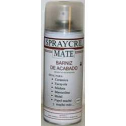 Barniz acrílico en spray mate. SPRAYCRIL 02022