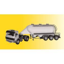 MB with SPITZER silo trailer. KIBRI 14059