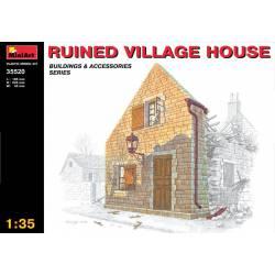 Ruined village house. MINIART 35520