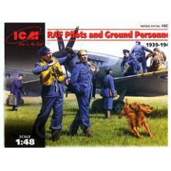 Pilotos de la RAF. ICM 48081