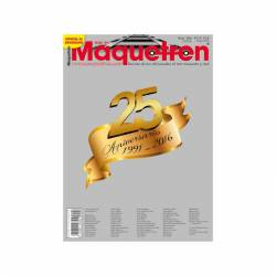 Revista Maquetren, nº 284. Especial 25 aniversario.