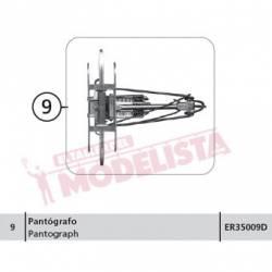 Pantograph for series AVE S-102 RENFE. ELECTROTREN ER35009D