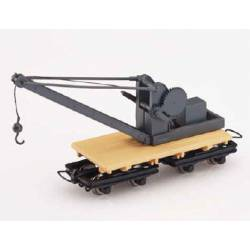 Crane car. MINITRAINS 5116