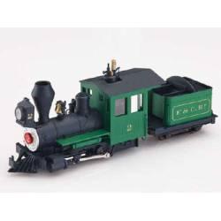 Locomotora de vapor americana, F&C. MINITRAINS 1003