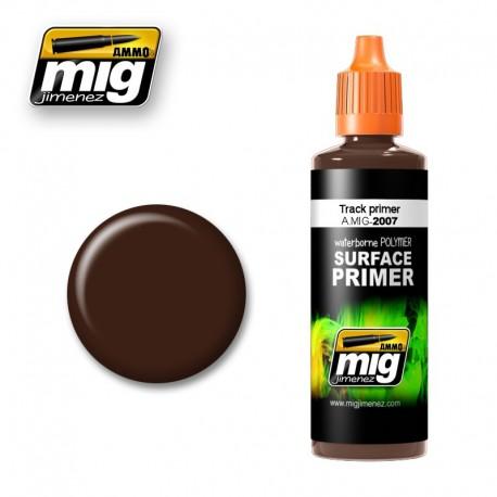 Imprimación marrón oscuro (para orugas). AMIG 2007