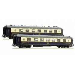 Pullman coaches set, WP + WPc. CIWL / IIIa. LS MODELS 49174