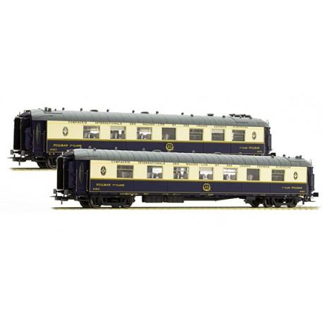 Set coches Pullman, WP + WPc. CIWL / IIIa. LS MODELS 49174