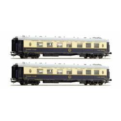 Pullman coaches set, WP + WPc. CIWL / II. LS MODELS 49171