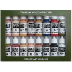 Set de colores piel y cara. VALLEJO 70125