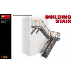 Building stairs. MINIART 35545