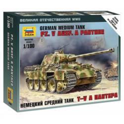 Pz. Kpfw. V Panther Ausf. A. ZVEZDA 6196