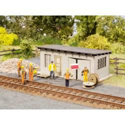 "Scenery Set ""Track Construction"". NOCH 65611"