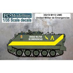 Decal set: M113 UME. FCMODELTIPS 35219