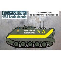 Decal set: M113 UME.