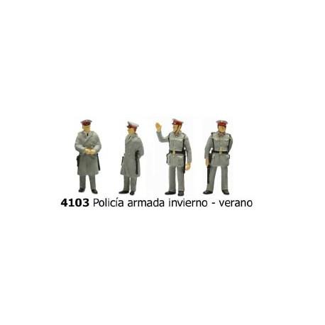 Policemen. ANESTE 4103