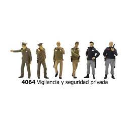 Vigilancia y seguridad privada.