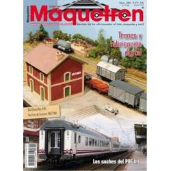 Revista Maquetren, nº 285. Noviembre 2016