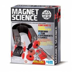 Set de ciencia magnética.