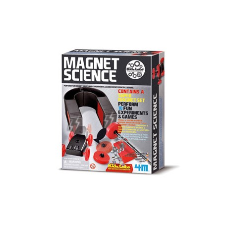 Set de ciencia magnética. 4M 00-032911