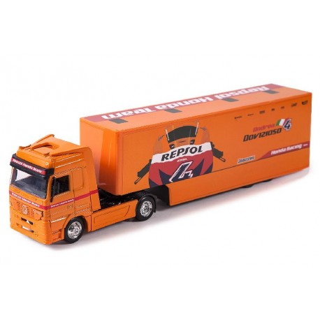 """MB Actros """"Equipo Repsol"""". NEW RAY 15793"""